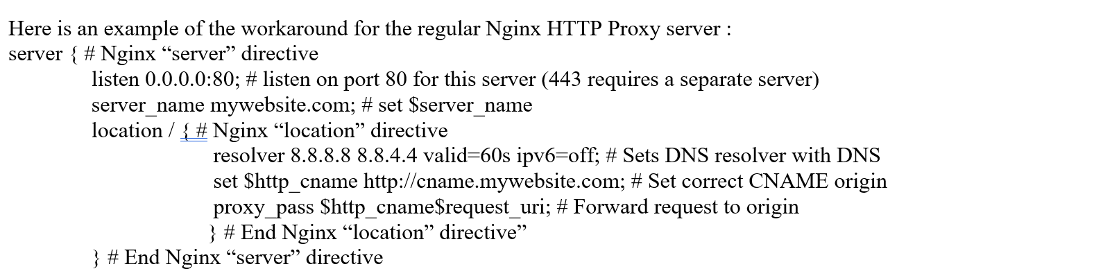 Nginx with Stream Module Dynamic Upstream CNAME | DOSarrest